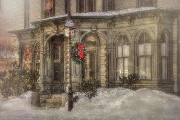 Photograph - Victorian Holidays - Portsmouth Nh by Joann Vitali