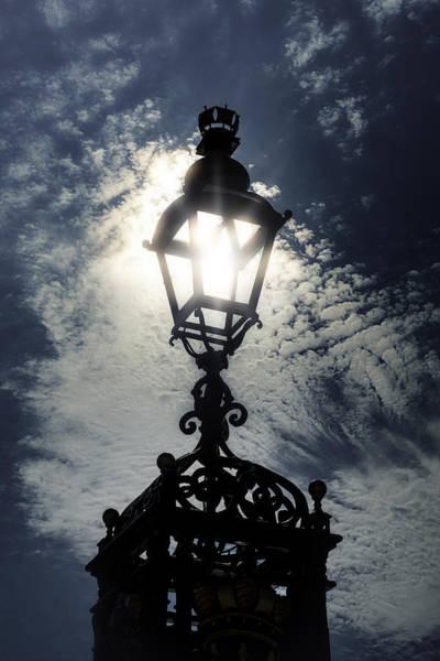 Lamp Post Photograph - Victorian Lamp Post by Joana Kruse