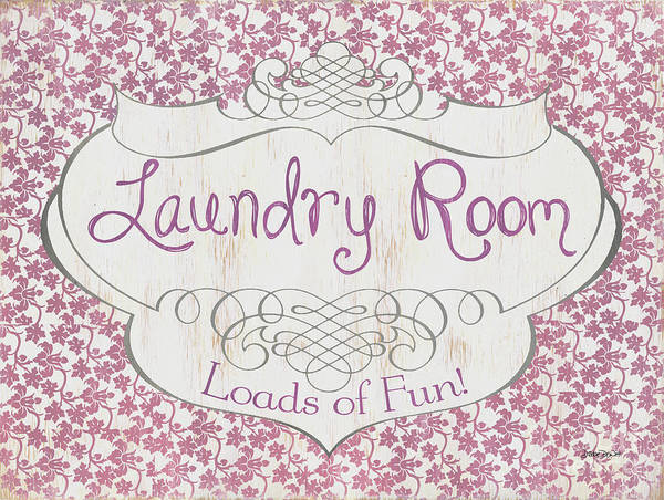 Wall Art - Painting - Victorian Laundry Room by Debbie DeWitt