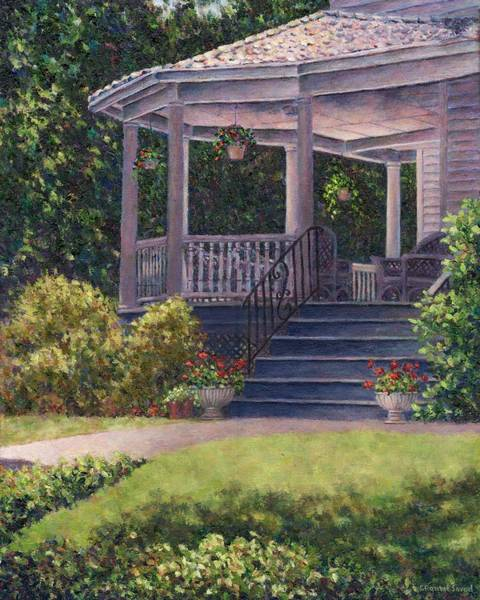 Painting - Victorian Porch by Susan Savad
