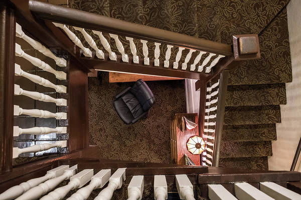 Photograph - Victorian Stairway by Glenn DiPaola