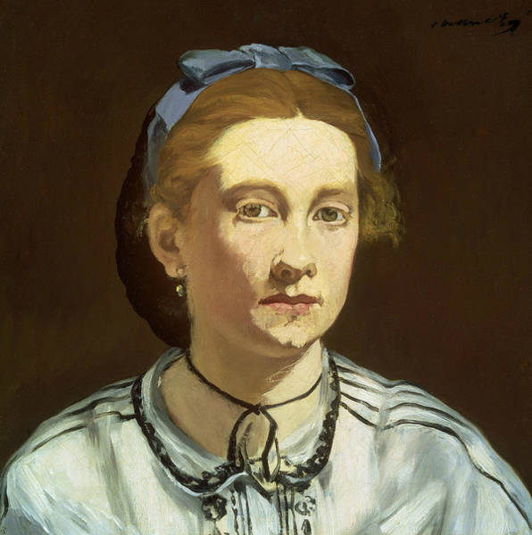Painting - Victorine Meurent by Edouard Manet
