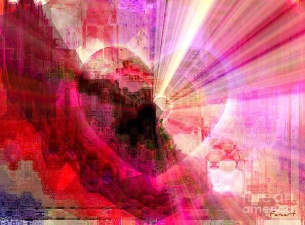 Respect Digital Art - Victorious Heart by Fania Simon