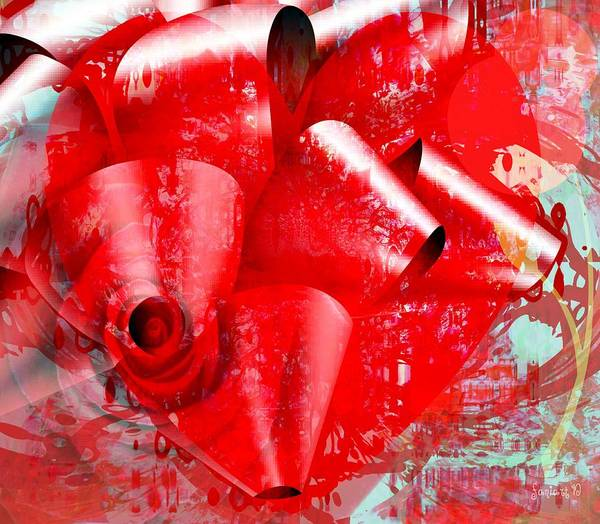 Description Digital Art - Victory - Not Afraid Of Red Gifts by Fania Simon