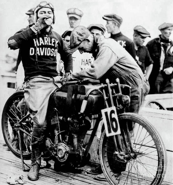 Victory Motorcycle Photograph - Victory At The Track by Jon Neidert