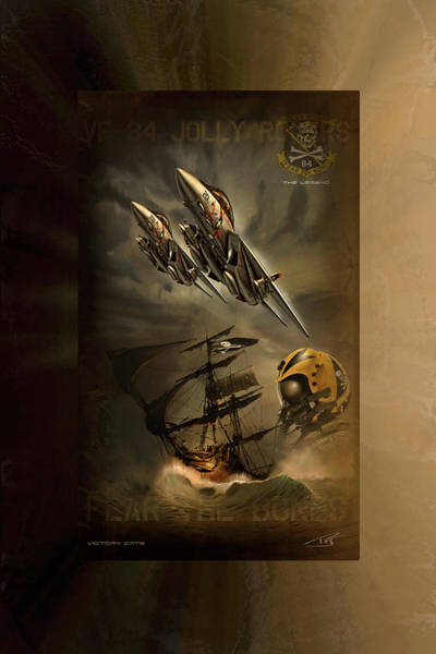 Supersonic Speed Wall Art - Digital Art - Victory Cats by Peter Van Stigt