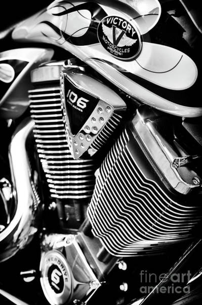 Victory Motorcycle Photograph - Victory Hammer by Tim Gainey