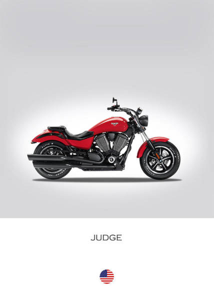 Victory Motorcycle Photograph - Victory Judge by Mark Rogan