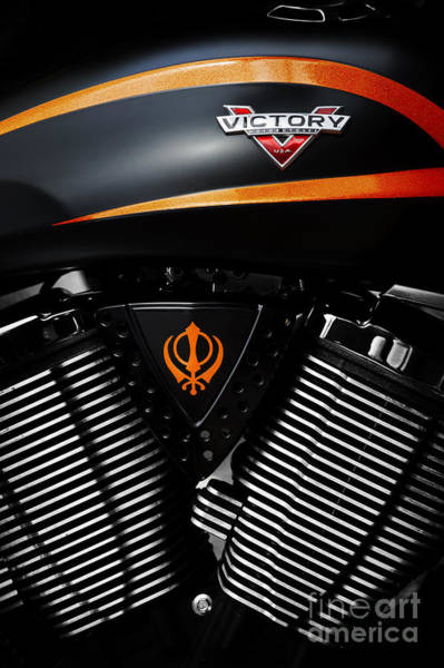 Victory Motorcycle Photograph - Victory Motorcycles by Tim Gainey