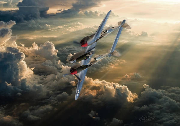 Propellors Digital Art - Victory Roll by Peter Chilelli