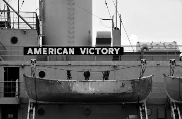 Battle Of The Atlantic Wall Art - Photograph - Victory Ship by David Lee Thompson