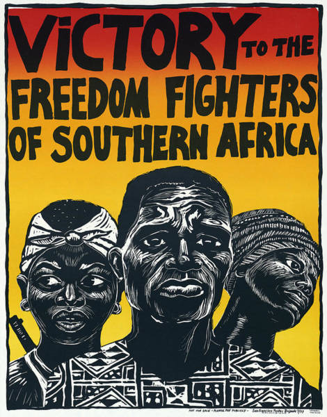 Wall Art - Photograph - Victory To The Freedom Fighters Of South Africa C. 1977 by Daniel Hagerman