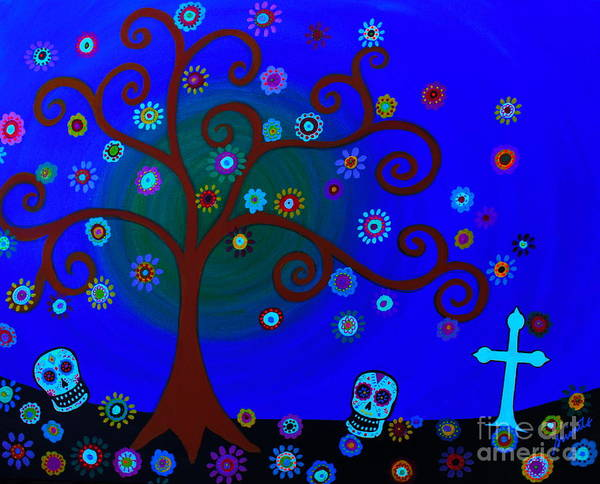 Painting - Vida, Amor Y Flores by Pristine Cartera Turkus