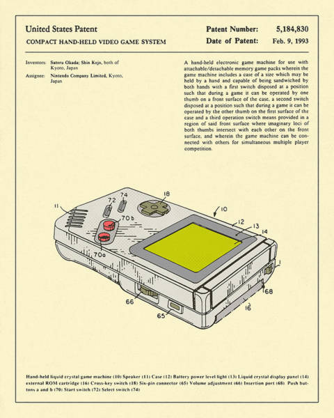 For Digital Art - Video Game System 1993 by Jazzberry Blue