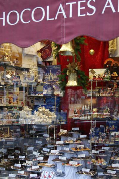 Photograph - Vienna Chocolatier Shop by David Birchall