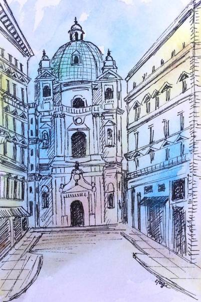 Painting - Vienna by Emily Page