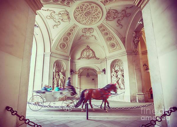 Photograph - Vienna Turist Coach by Ariadna De Raadt