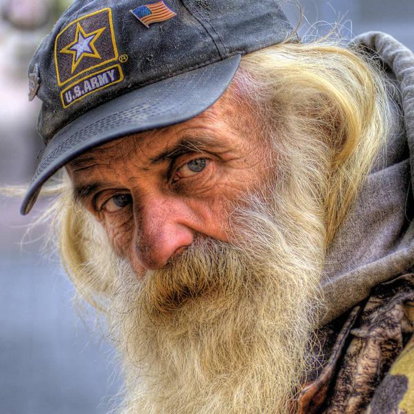 Veterans Photograph - Viet Nam Vet by Don Wolf