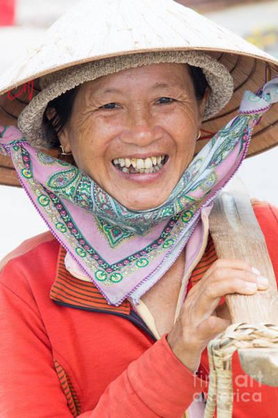 Quang Nam Province Photograph - Vietnam Lady Street Vendor  by Martin Berry