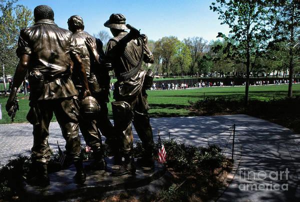 Photograph - Vietnam Veterans Memorial Memorial Day by Thomas R Fletcher