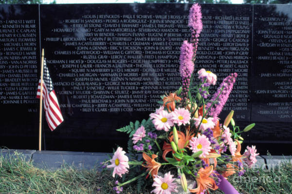 Photograph - Vietnam Veterans Memorial On Memorial Day by Thomas R Fletcher