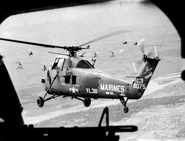 Photograph - Vietnam War 1966 by Granger