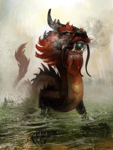 Vietnamese Dragon Art Print
