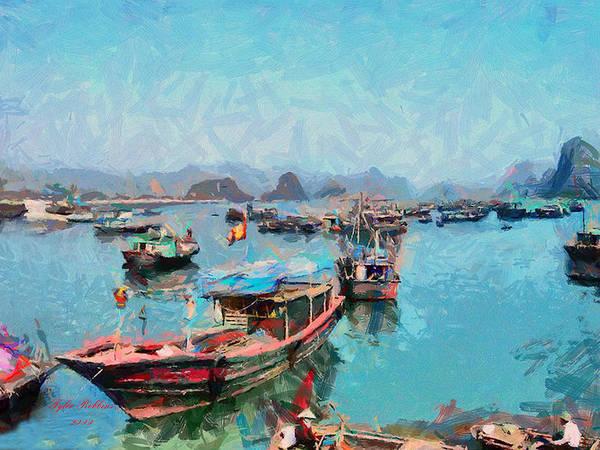 Painting - Vietnamese Fishermen by Tyler Robbins
