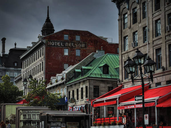 Photograph - Vieux Montreal 001 by Lance Vaughn