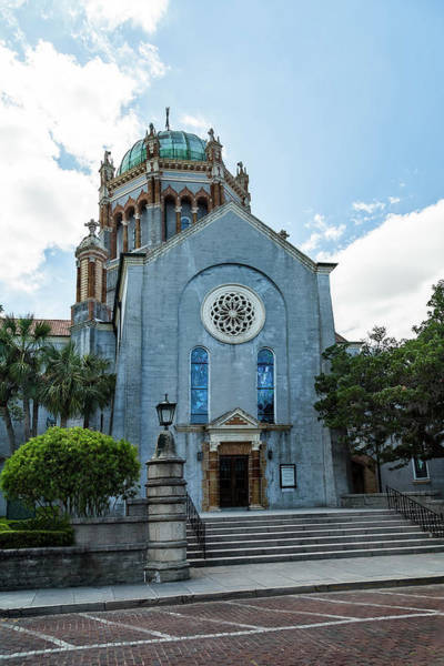 Photograph - Flagler Memorial Presbyterian Church, St Augustine, Florida, A Different View by Kay Brewer