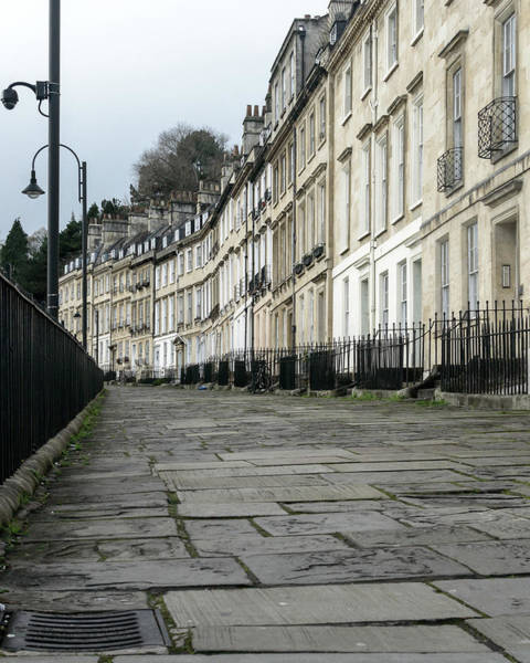 Photograph - View Across Georgian Terrace Houses by Jacek Wojnarowski