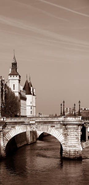Photograph - View Along The Seine 1b by Andrew Fare