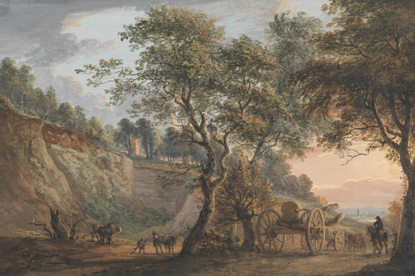 Painting - View At Charlton, Kent by Paul Sandby