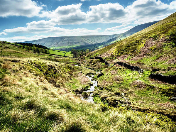 Photograph - View Down Crowden Clough by Nick Bywater