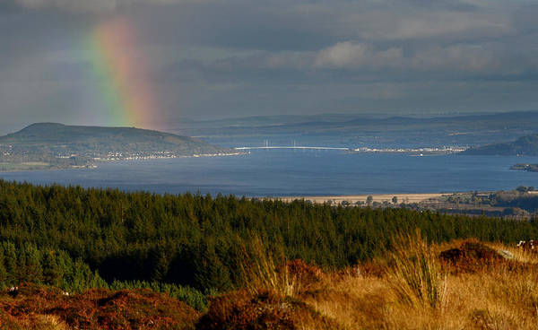 Photograph - View Down The Beauly Firth  by Gavin MacRae