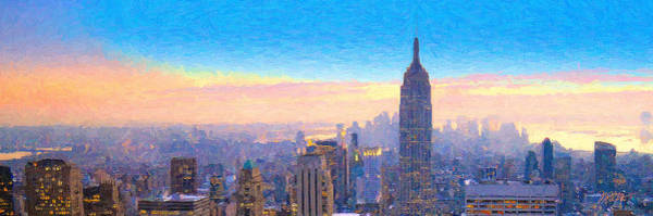 Wall Art - Photograph - View From 30 Rock by Michael Petrizzo