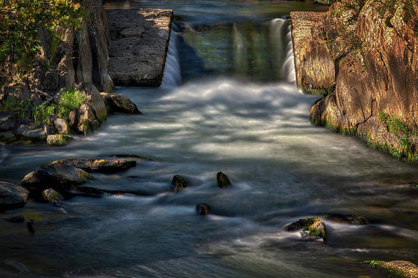 Photograph - View From A Bridge At Great Falls by Stuart Litoff
