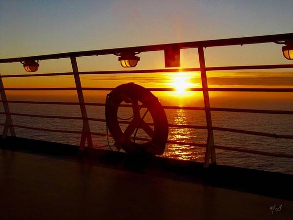 Photograph - View From A Cruise Ship by Mark Taylor