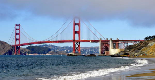 Photograph - View From Baker Beach by AJ  Schibig