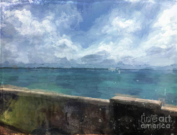 Luther Photograph - View From Bermuda Naval Fort by Luther Fine Art