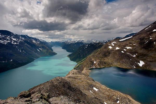 Photograph - View From Bessegen Ridge by Aivar Mikko