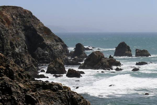 View From Bodega Head In Bodega Bay Ca - 4 Art Print