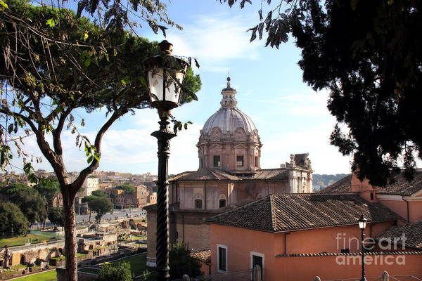 Photograph - View From Campidoglio by Angela Rath