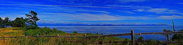 Digital Art - View From Cape Lazo by Richard Farrington