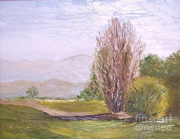 Painting - View From Casa Galleria by Jeanie Watson
