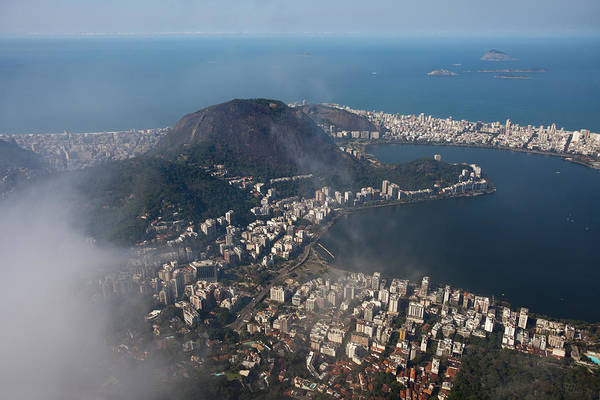 Photograph - View From Corcovado Mountain by Aivar Mikko