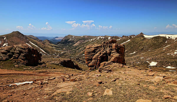 Fourteener Photograph - View From Devil's Playground by Judy Vincent