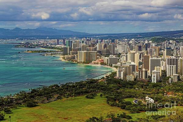 Photograph - View From Diamond Head by Jon Burch Photography