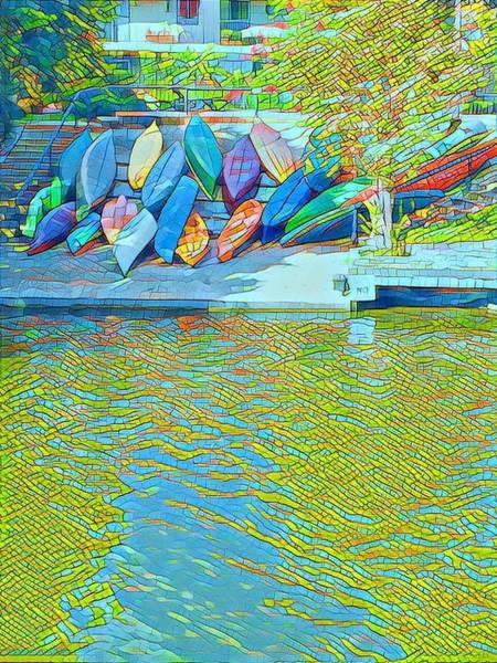 View From East Side Boardwalk Art Print