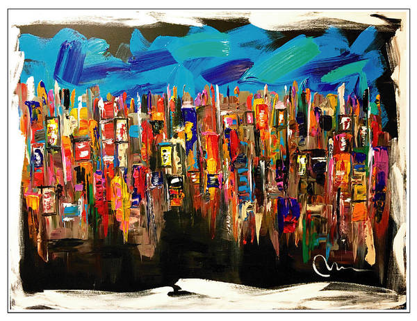 Wall Art - Painting - View From Here by Mac Worthington